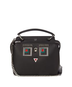 Fendi | Dotcom Small Square Eyes Leather Cross-Body Bag