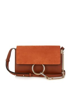 Chloe | Faye Small Suede And Leather Shoulder Bag
