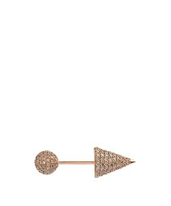 ELISE DRAY | Diamond Whitepiercing Pleureuse Earring