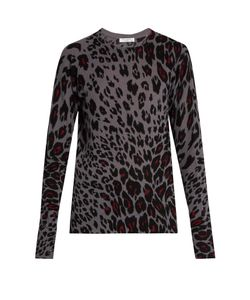 Equipment | Sloane Cheetah-Print Cashmere Sweater