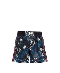 THE UPSIDE | Garda Cherry Blossom-Print Shorts