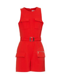 Mugler | Mid-Weight Crepe Playsuit