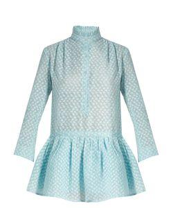 Thierry Colson | Lizbeth Fil Coupé Silk-Gauze Dress