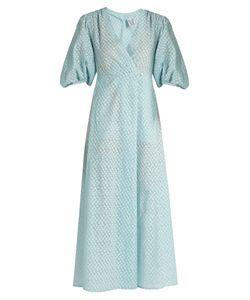 Thierry Colson | Phoebe Fil Coupé Silk-Gauze Dress