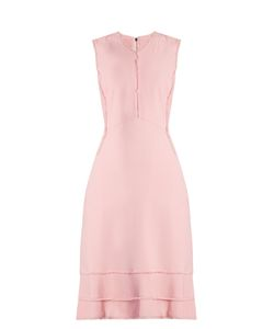 Altuzarra | Doe Frayed-Edge Crepe Dress