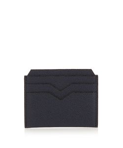 Valextra | Grained-Leather Cardholder