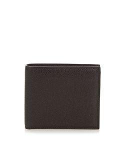 Valextra | Grained-Leather Bi-Fold Wallet