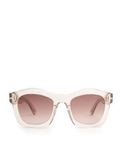 TOM FORD SUNGLASSES | Greta Acetate Sunglasses
