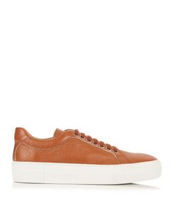 ARMANDO CABRAL | Lace-Up Low-Top Leather Trainers