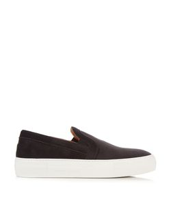 ARMANDO CABRAL | Low-Top Velvet Trainers