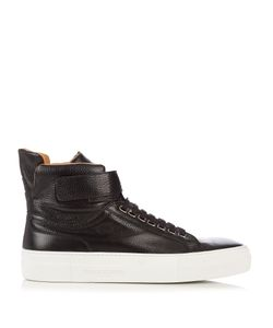 ARMANDO CABRAL | High-Top Leather Trainers