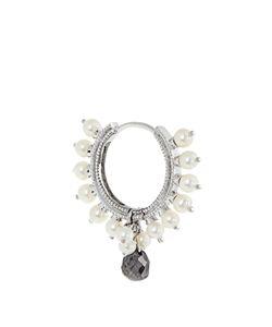 MARIA TASH | Diamond Pearl Whiteearring