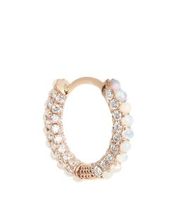 MARIA TASH | Diamond Opal Roseearring