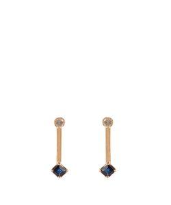 LOREN STEWART | Diamond Sapphire Yellowearrings