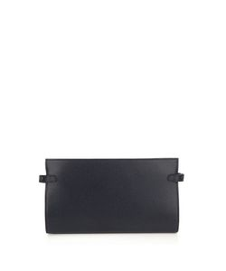 Valextra | Grained-Leather Bi-Fold Cable Holder