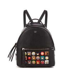 Fendi | Embellished Mini Leather Backpack