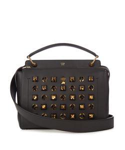 Fendi | Dotcom Embellished Leather Bag