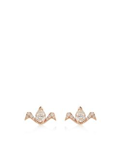 RAPHAELE CANOT   Deco Rocks Diamond Pinkearrings