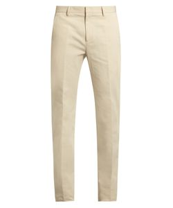 Calvin Klein Collection | Exact Slim-Fit Cotton And Linen-Blend Trousers