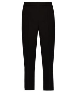 Calvin Klein Collection | Jeno Wool And Silk-Blend Cropped Trousers