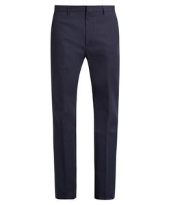 Calvin Klein Collection | Spike Slim-Fit Stretch Cotton-Blend Trousers