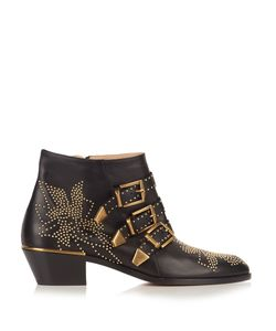 Chloe | Susanna Leather Ankle Boots