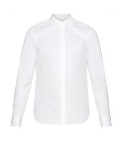MATHIEU JEROME | Long-Collar Double-Cuff Cotton Shirt