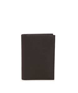 Valextra | Grained-Leather Passport Holder