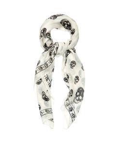 Alexander McQueen | Skull-Print Silk-Chiffon Scarf