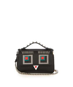 Fendi | Double Micro Baguette Square Eyes Cross-Body Bag