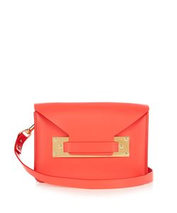 Sophie Hulme | Milner Mini Envelope Leather Cross-Body Bag