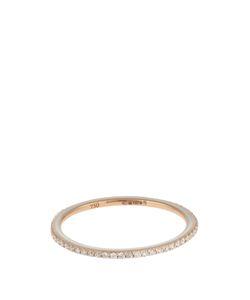 RAPHAELE CANOT   Skinny Deco Diamond Enamel Pinkring