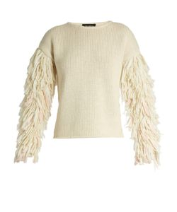 TABULA RASA | Karash Fringed-Sleeve Alpaca-Blend Sweater