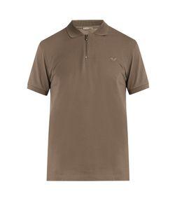 Bottega Veneta | Logo-Embroidered Cotton-Piqué Polo Shirt