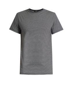A.P.C.   Stitch Striped Crew-Neck T-Shirt