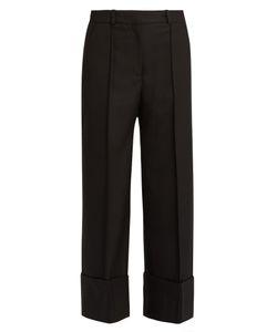 RACIL | Leo High-Waisted Straight-Leg Wool Trousers