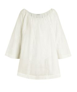 KALITA | Casablanca Cotton And Silk-Blend Cover-Up