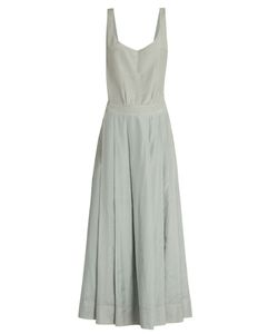 KALITA | Fonteyn And The Slipper Apron Silk-Blend Dress