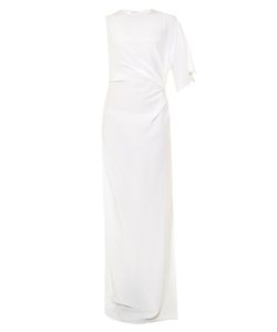 Givenchy | Draped Crepe De Chine Gown