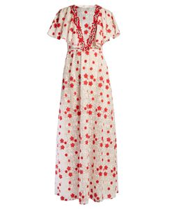 Giambattista Valli | -Embroidered Macramé-Lace Gown