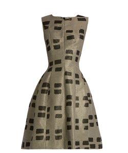 Vivienne Westwood Anglomania | Joan Sleeveless Brushstroke-Brocade Dress