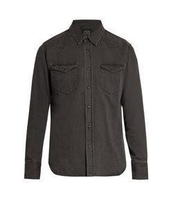 Kuro | Zoro Western Denim Shirt