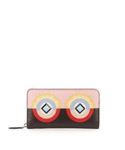 Fendi | Bag Bugs Leather Wallet