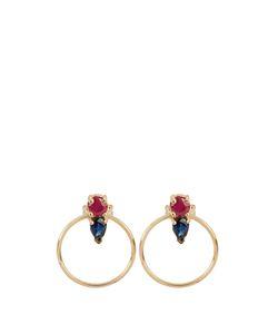 LOREN STEWART | Ruby Sapphire Yellowearrings