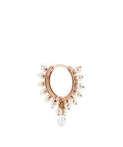 MARIA TASH | Diamond Pearl Roseearring