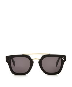 CÉLINE SUNGLASSES | Aviator Acetate Sunglasses