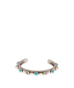 Valentino   Rockstud And Stone-Embellished Bracelet