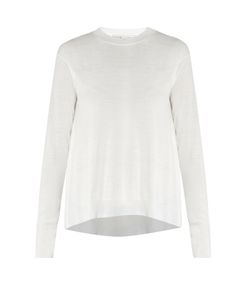 Stella Mccartney | Asymmetric-Hemline Wool Sweater