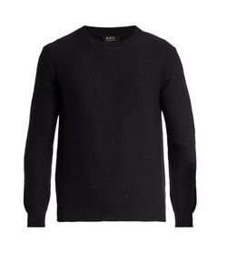 A.P.C. | Wallace Crew-Neck Wool Sweater