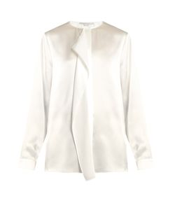 Stella Mccartney | Goldie Ruffled Silk-Satin Blouse